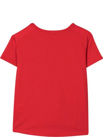 Givenchy Red Teen T-shirt