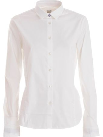 PS by Paul Smith Ps Paul Smith Curved Hem Shirt