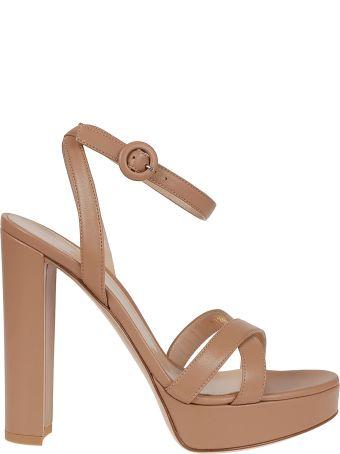 Gianvito Rossi Poppy Platform Sandals