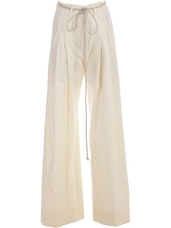 Ann Demeulemeester Rope Belt Trousers
