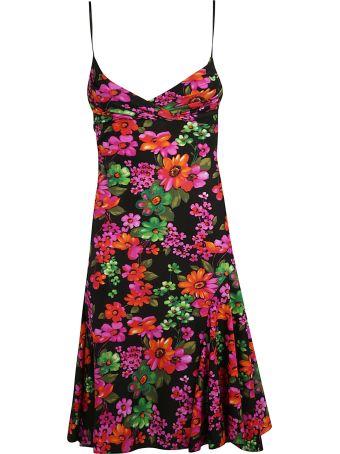 Amen Slim Fit Floral Dress