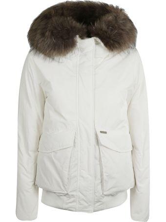 Woolrich Fur Trim Bomber