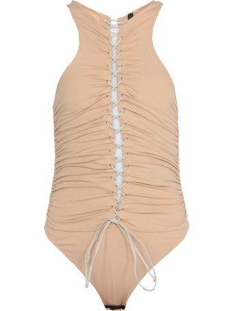 Ben Taverniti Unravel Project Draping Bodysuit