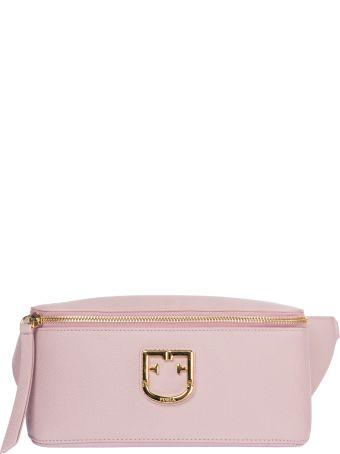Furla  Leather Belt Bum Bag Hip Pouch Isola