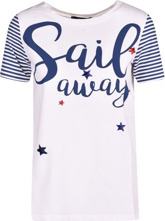 Weekend Max Mara Sail Away Print T-shirt