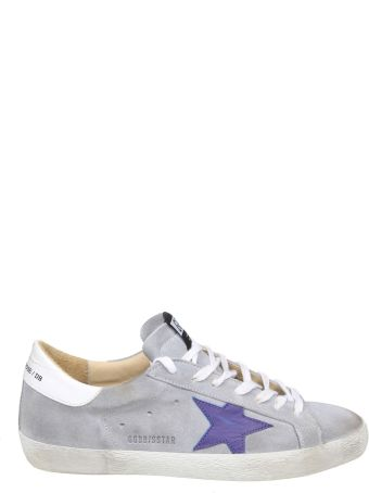 Golden Goose Sneakers Superstar Suede Color Gray