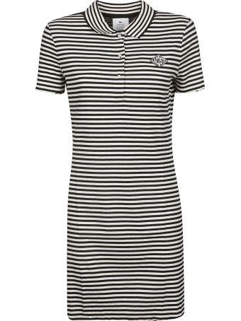 Lacoste L!VE Lacoste Live Fitted Stripe Dress