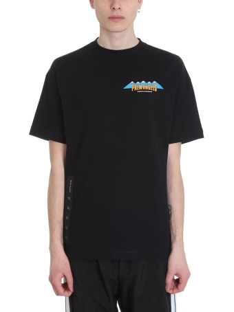 Palm Angels Hiking Black Cotton T-shirt