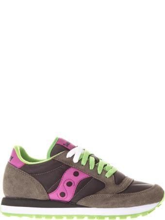 Saucony Jazz Suede & Nylon Sneakers