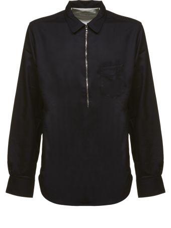 Officine Générale Officine Generale Zipped Shirt
