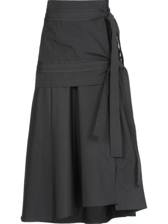 3.1 Phillip Lim Cotton Skirt