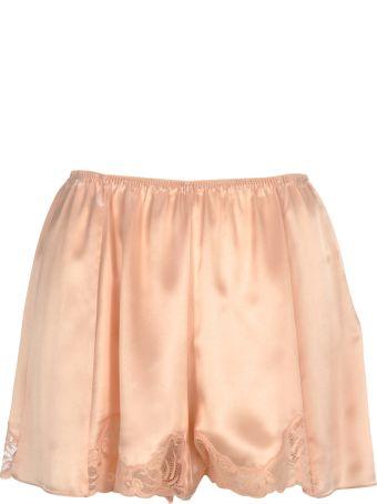 Stella McCartney Stella Mccartney Lace Trim Satin Shorts