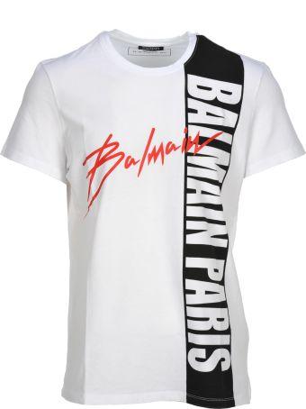 Balmain Balmain Logo Print T-shirt