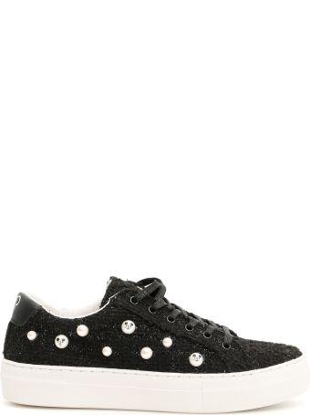 M.O.A. master of arts Lurex Tweed Disney Sneakers