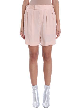 Neil Barrett Pink Cottons Pence Shorts