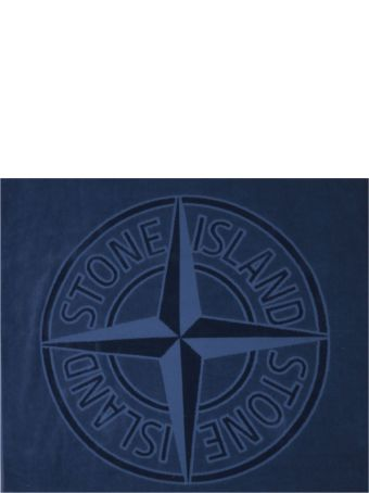 Stone Island Logo Beach Towel