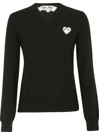 Comme des Garçons Play Play Comme Des Garçons Heart Patch T-shirt