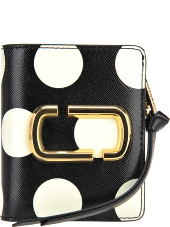 Marc Jacobs Mini Compact Wallet Dot