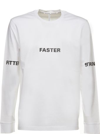 Black Barrett Faster Print Long Sleeve T-shirt