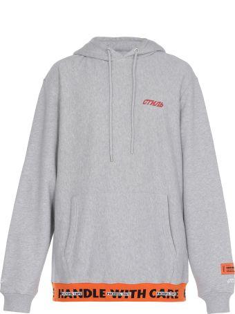 HERON PRESTON Jacquard Sweatshirt