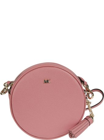 Michael Kors Medium Pebbled Canteen Crossbody Bag