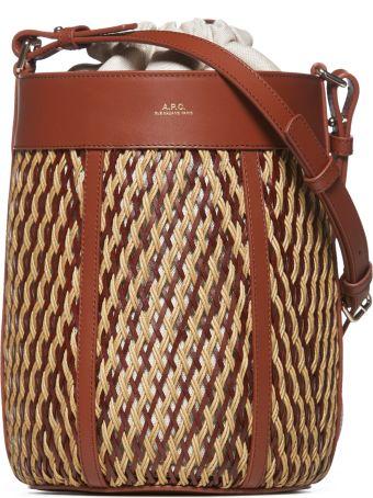 A.P.C. Braided Shoulder Bag