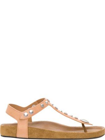 Isabel Marant Enore Studded Tthong Sandals