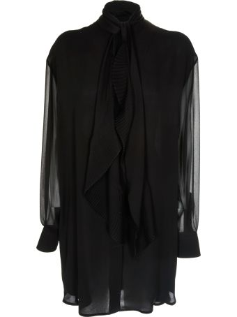 Givenchy Scarf Detailed Short Dress