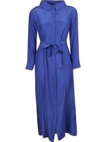 Parosh Waist-tied Long Dress