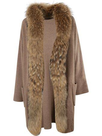 Rizal Fur Oversized Coat