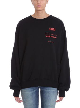 AMIRI Black Cotton Sweatshirt