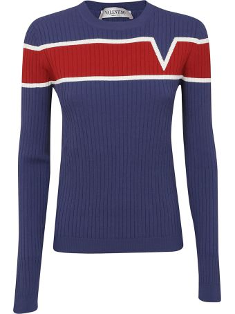 Valentino Ribbed Jumper