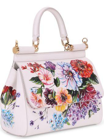 Dolce & Gabbana White Floral Sicily
