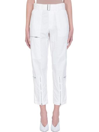 Helmut Lang Flight White Pants