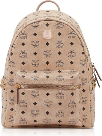 MCM Side Studs Visetos Stark Backpack