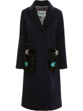 Ava Adore Coat With Fur Pockets