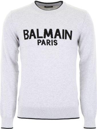 Balmain Logo Pullover