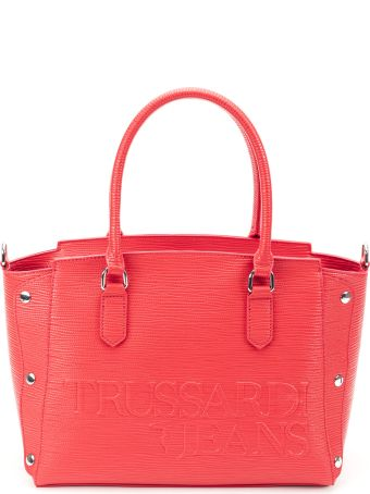Trussardi Trussardi Melly Saffiano Ecoleather Tote Bag