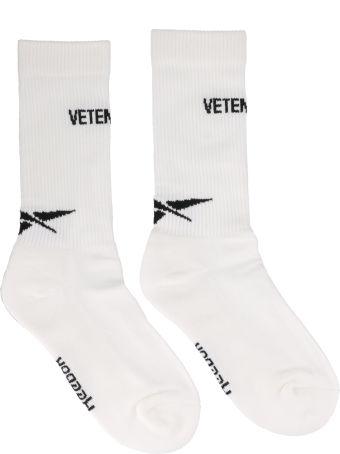 VETEMENTS Logo Vetements Socks