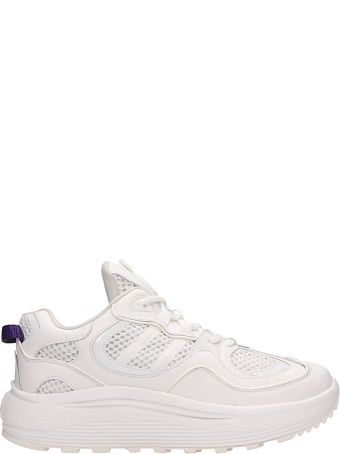 Eytys White Fabric Jet Turbo Sneakers