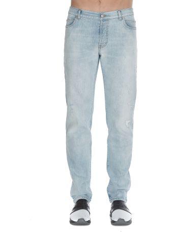 Balmain Tapered Vintage Blue  Jeans