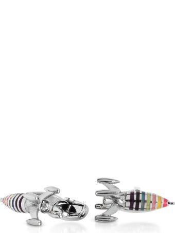 Paul Smith Artist Stripe Rocket Men's Cufflinks