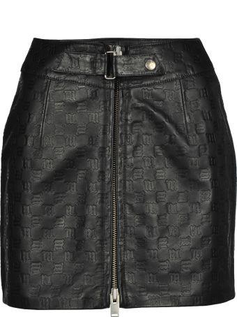 MISBHV Leather Skirt