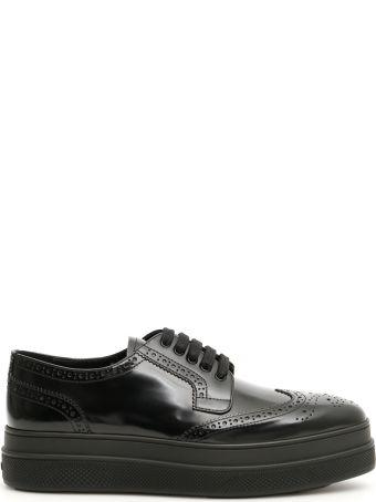 Prada Derby Shoes With Platform