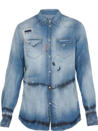 Dsquared2 Cotton Jeans Jacket