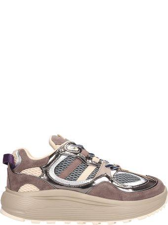 Eytys Jet Turbo Sneakers In Grey Fabric