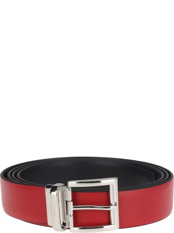 Prada Reversible Bi-coloured Leather Belt