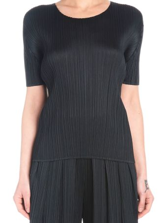 Pleats Please Issey Miyake 'basic' Top
