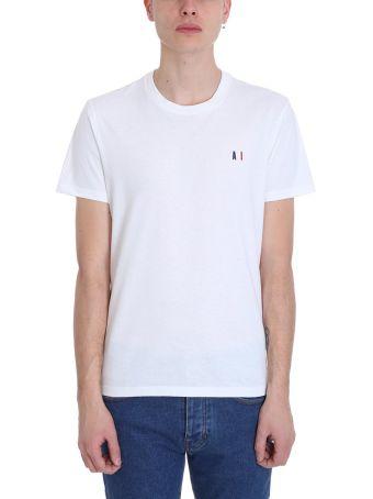 Ami Alexandre Mattiussi White Cotton T-shirt