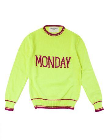 """Alberta Ferretti """"monday"""" Pullover In Yellow"""